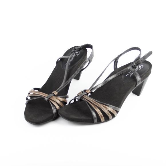 d337d5c85eefa Essence by Aetrex Womens Sandals Shoes Size 9.5